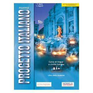 Nuovo Progetto Italiano 1B. Podręcznik + Audio Online 1B