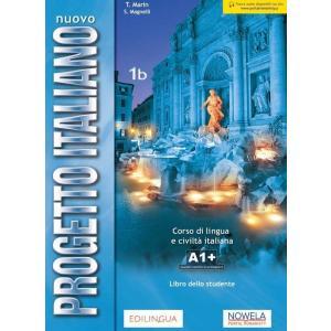 Nuovissimo Progetto Italiano 1B podręcznik + zawartość online ed. PL