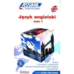 Język angielski łatwo i przyjemnie książka tom 1 + audio online