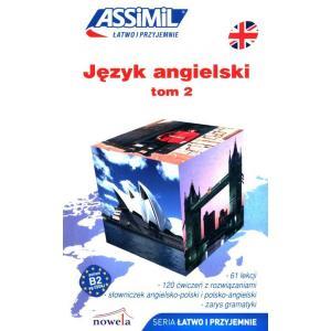 Język angielski łatwo i przyjemnie książka tom 2 + audio online