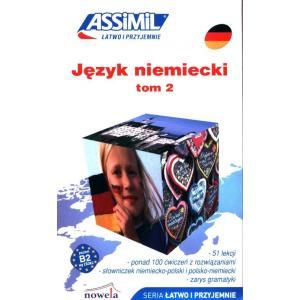 Język niemiecki łatwo i przyjemnie książka tom 2 + audio online