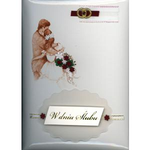 Książeczka ręcznie robiona mała Ślub