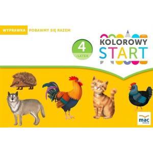 Kolorowy Start. 4-Latek. Wyprawka: Pobawmy Się Razem (w Teczce)