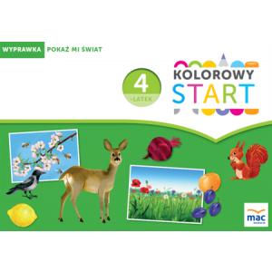Kolorowy Start 4-Latek. Wyprawka: Pokaż Mi Świat (w Teczce)