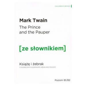 Książę i żebrak z podręcznym słownikiem angielsko-polskim