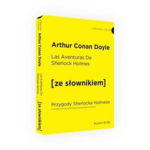 LH Przygody Sherlocka Holmesa wersja hiszpańska ze słownikiem hiszpańsko-polskim