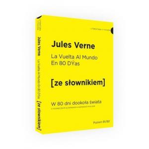 LH W 80 dni dookoła świata wersja hiszpańska ze słownikiem hiszpańsko-polskim