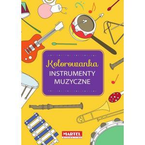 Kolorowanka instrumenty muzyczne