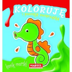 Koloruję i poznaję zwierzątka Konik morski