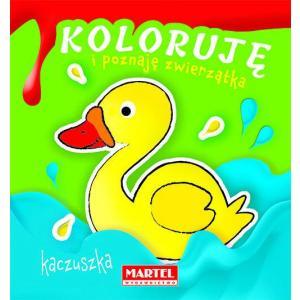 Koloruję i poznaję zwierzątka Kaczuszka