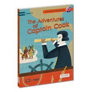 Czytam po Angielsku. The Adventures of Captain Cook (Przygody Kapitana Cooka) + MP3. Level 2