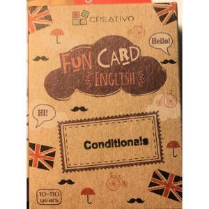 Karty językowe Angielski Fun Card English Conditionals