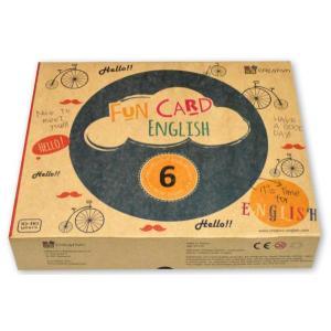 Karty językowe Angielski XXL Fun Card English 6