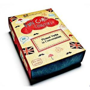 Karty językowe Angielski Fun Card English Phrasal Verbs in Conversation