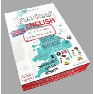 Karty językowe Angielski Fun Card English My first 600 english words