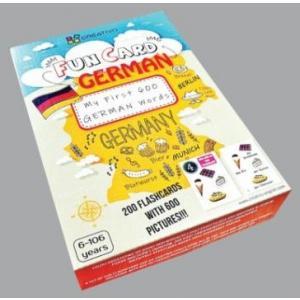 Karty językowe Niemiecki Fun Card German My first 600 german words