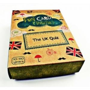 Karty językowe Angielski Fun Card English The UK quiz
