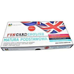 Karty językowe Angielski Fun Card English Matura Podstawowa
