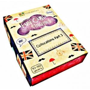 Karty językowe Angielski Fun Card English Collocations Part 3