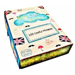 Karty językowe Angielski Fun Card English 100 Useful Phrases