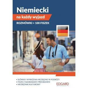 Niemiecki na każdy wyjazd. Pakiet. Rozmówki + 100 fiszek