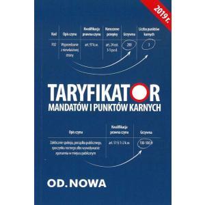 Taryfikator Mandatów i Punktów Karnych 2019