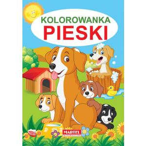 Kolorowanka Pieski