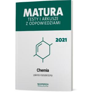 Matura 2021. Chemia. Testy i arkusze. Zakres rozszerzony