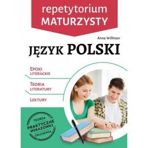 Język polski. Repetytorium maturzysty. Epoki literackie, teoria literatury, lektury
