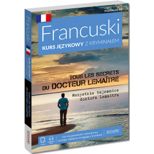 Francuski. Kurs językowy z kryminałem. Tous les secrets du docteur Lemaitre. Poziom A1-A2