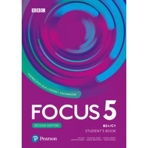 Focus Second Edition 5. Student's Book + kod (Digital Resources + Interactive eBook)