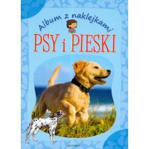 Album z naklejkami. Psy i pieski. Opr. miękka