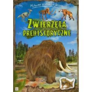 Album z naklejkami - Zwierzęta prehistoryczne
