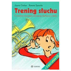 Trening słuchu. Ćwiczenia rozwijające...+Audio CD. Opr. miękka