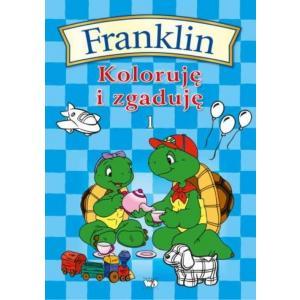 Franklin Koloruję i zgaduję 1