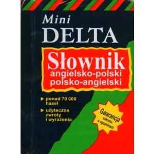 Słownik Angielsko-Polsko-Angielski. Mini Delta