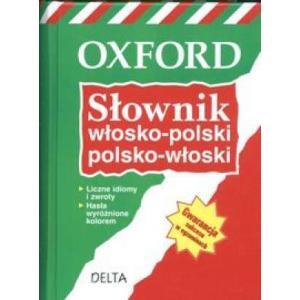 Słownik Włosko-Polsko-Włoski Delta (Oxford)