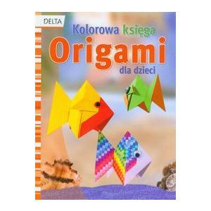Origami kolorowa księga dla dzieci