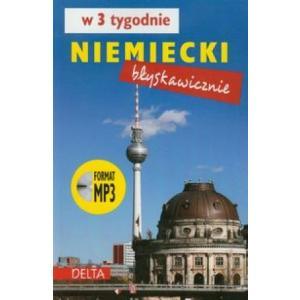 Niemiecki błyskawicznie w 3 tygodnie +CD