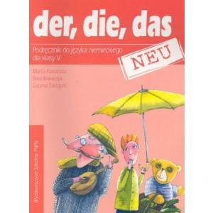 Der Die Das SP 5 New PA Podręcznik + cass