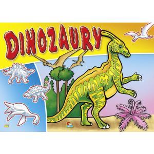 Dinozaury. Kolorowanka 174