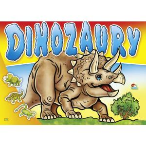 Dinozaury. Kolorowanka 175