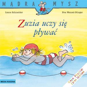 Mądra mysz Zuzia uczy się pływać