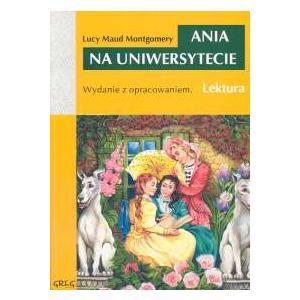 Ania na uniwersytecie z opracowaniem