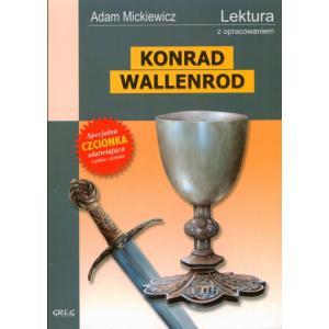 Konrad Wallenrod z opracowaniem oprawa miękka