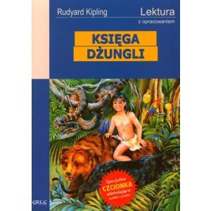 Księga dżungli z opracowaniem oprawa miękka