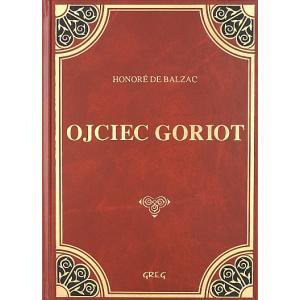 Ojciec Goriot z opracowaniem oprawa skórzana