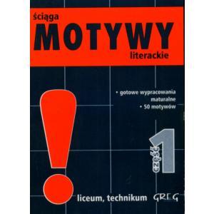 Motywy literackie - ściąga - mini wersja cz. 1