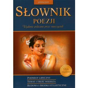 Słownik poezji gimnazjum