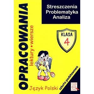 J. polski. SP kl. 4. Opracowania lektur i wierszy OOP